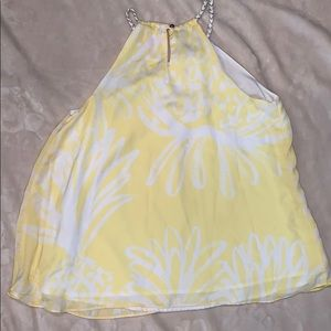 Lilly Pulitzer Tops - Lilly Pulitzer Pineapple Print Halter Top